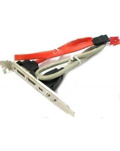 Планка e-SATA + mini FireWire
